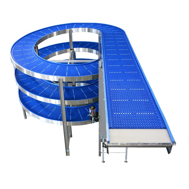 JP FD Spiral Conveyor cinta transportadora