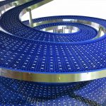 TWICE THE EFFICIENCY: THE JP FD DOUBLE SPIRAL CONVEYOR