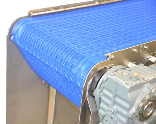JP FD 120 spiral conveyor: kleinere schakel, perfecte aansluiting!